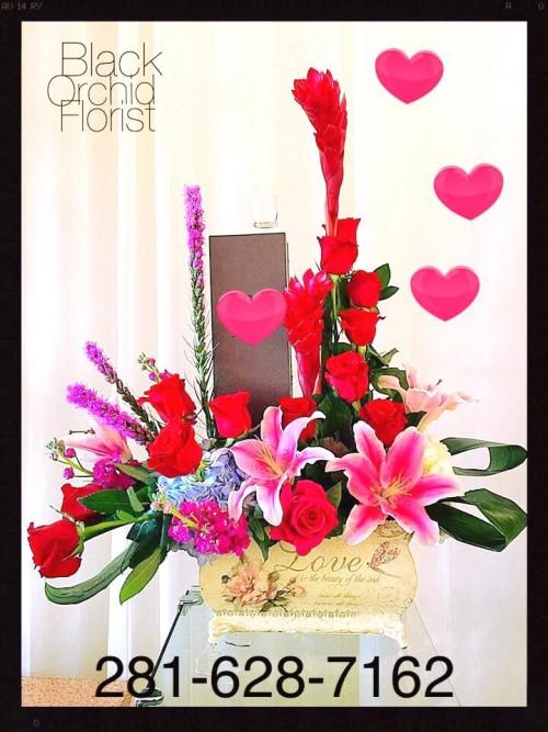 Baytown Florist Baytown Tx Flower Shop Black Orchid Florist Llc