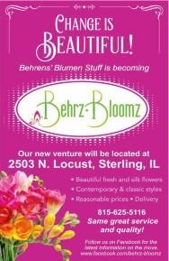 Behrz Bloomz formerly Behren's Blumen Stuff